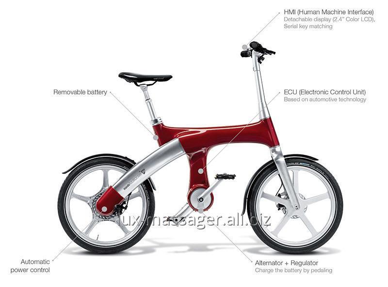 """Гибридный велосипед Mando Footloose IM красный 20"""""""
