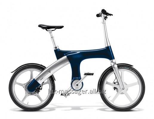 """Гибридный велосипед Mando Footloose IM темно синий 20"""""""