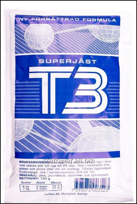 Спиртовые дрожжи T3 Turbo