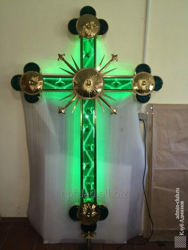 Эксклюзивный крест с LED подсветкой
