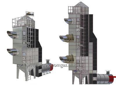 Зерносушилка SGG Feerum (газовая горелка, горелка на жидком топливе)
