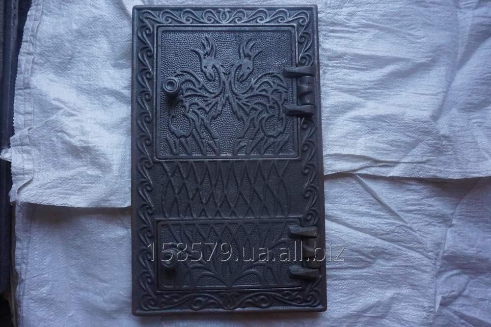 "Дверца печная спарка (Ар)(Рум) ""Дракон"" (44х24,52х32)"