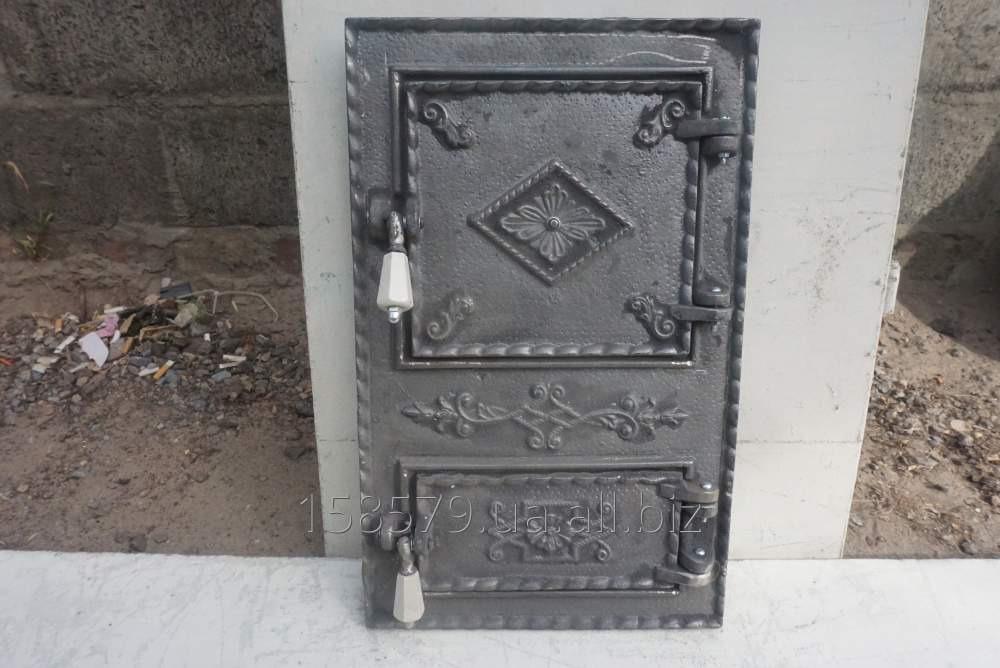 """Дверца печная спарка (АР)(Рум) """"Ромб"""""""