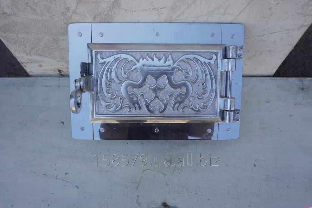 Дверца поддув. (ПР) (алюминиевое литье)+ топочная (Комплект)