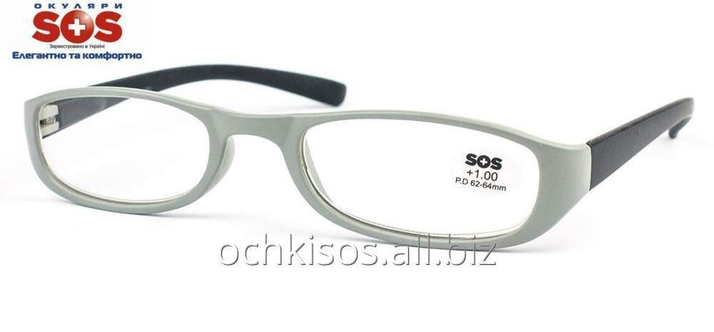 Очки для чтения SOS женские модель P 13074 Mat Grey- Black