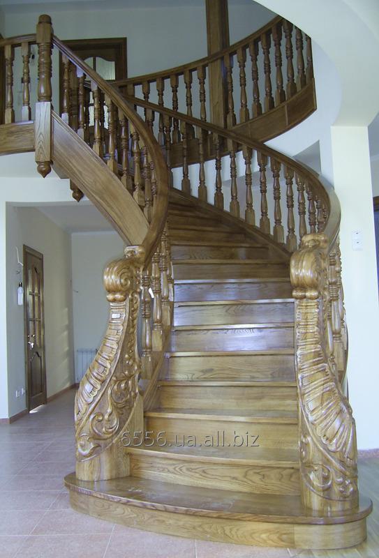 Купить Лестница из натурального дерева Эксклюзивная