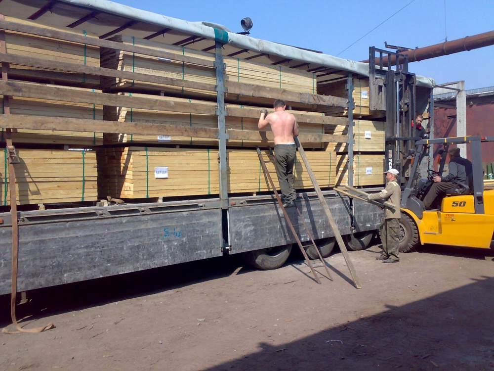 Пиломатериалы разных пород дерева на Экспорт