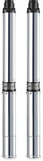 Глубинный скважный погружной насос Opera 100 QJD 2-35/6-0.37  YD (35м)