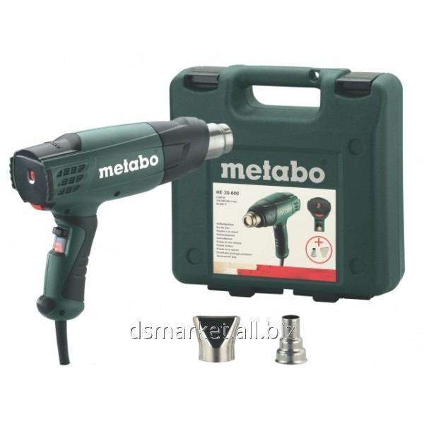 Купить Термовоздуходувка Metabo He 20-600 (в кейсе)