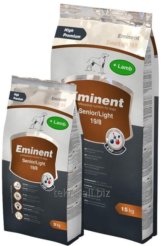 Купить Корм для собак Eminent Senior/Light Lamb & Rice 19/8