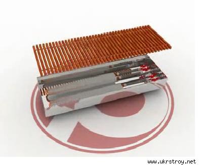 Купить Внутрипольный конвектор POLVAX KEМ 300*3000*90