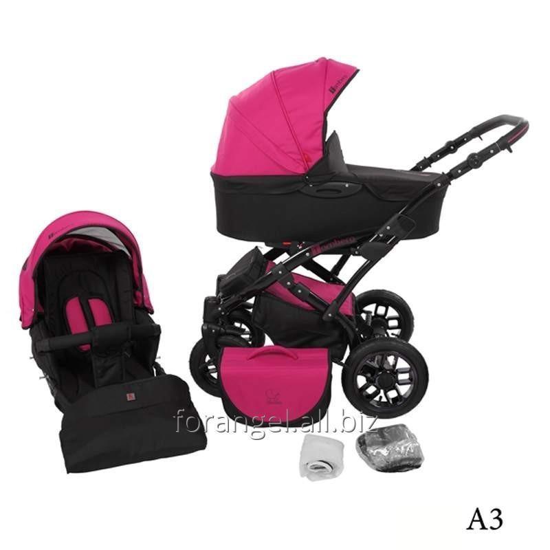 Купить Детская коляска 2 в 1 Tutek Tambero Black 03
