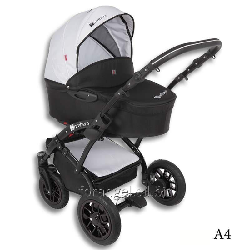Купить Детская коляска 2 в 1 Tutek Tambero Black 04