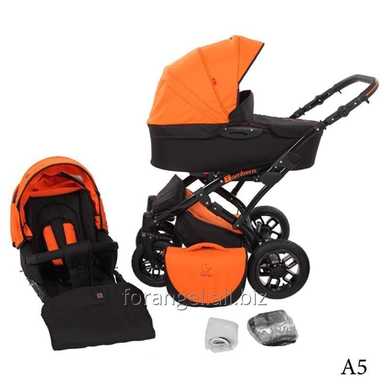 Купить Детская коляска 2 в 1 Tutek Tambero Black 05