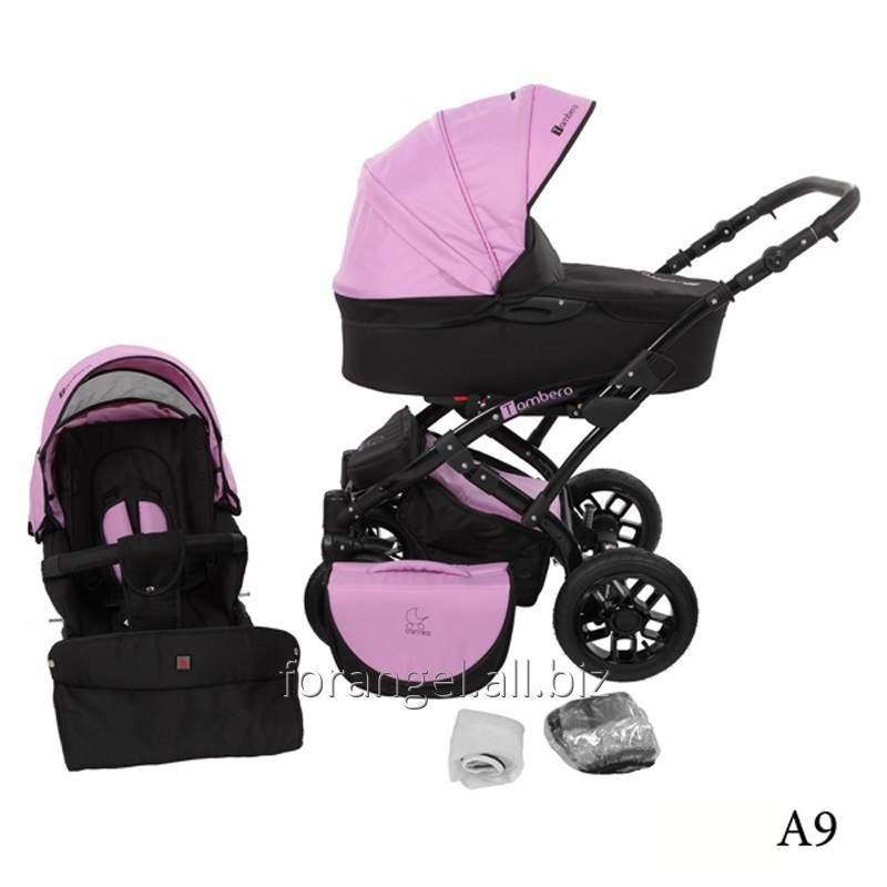 Купить Детская коляска 2 в 1 Tutek Tambero Black 09