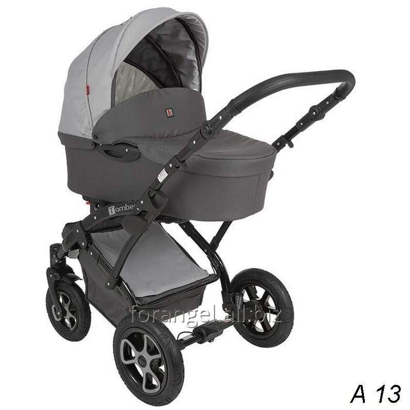 Купить Детская коляска 2 в 1 Tutek Tambero Black 13