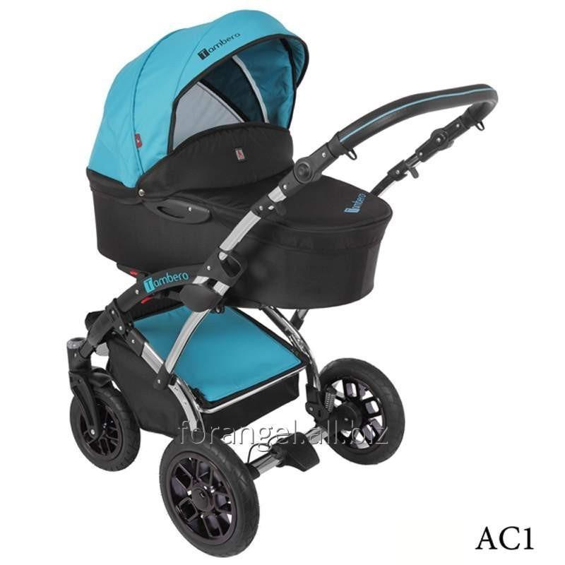 Купить Детская коляска 2 в 1 Tutek Tambero Chrom 01, Артикул 1102-0233