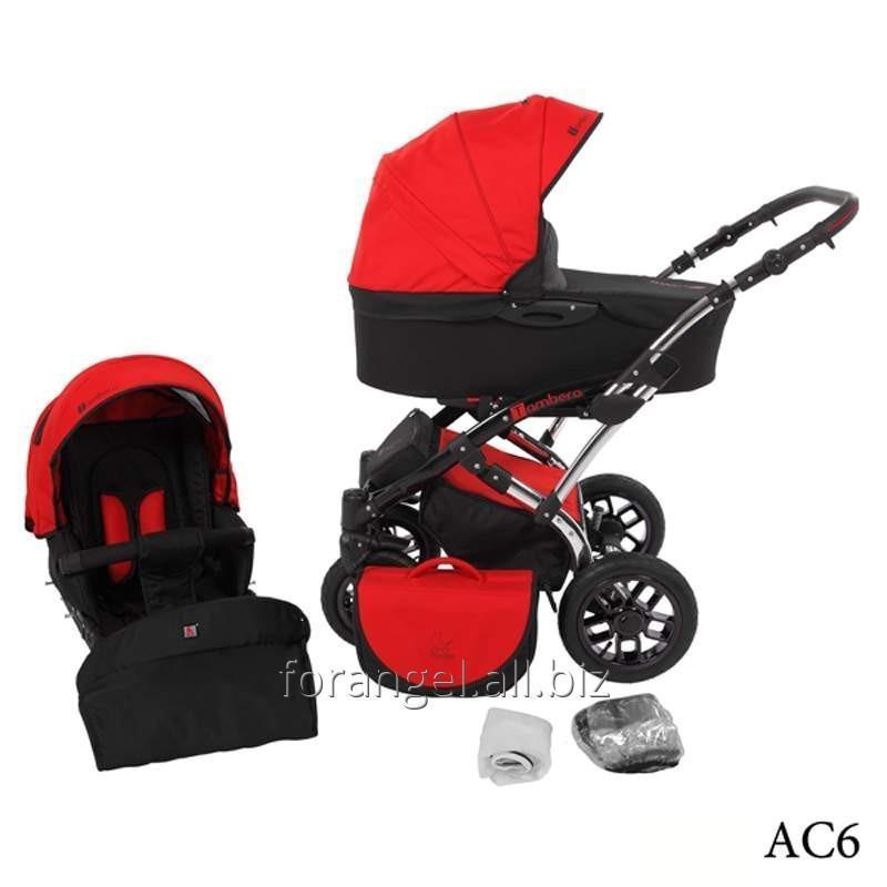 Купить Детская коляска 2 в 1 Tutek Tambero Chrom 06