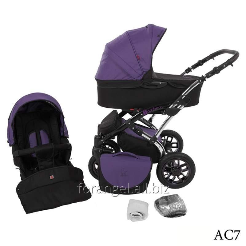Купить Детская коляска 2 в 1 Tutek Tambero Chrom 07