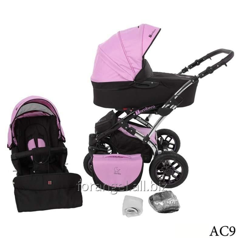 Купить Детская коляска 2 в 1 Tutek Tambero Chrom 09, Артикул 1102-0241