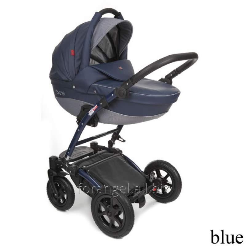 Купить Детская коляска 2 в 1 Tutek Torero Eco Blue, Артикул 100-442