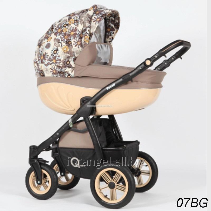 Купить Детская коляска 2 в 1 Verdi Avenir 07BG, Артикул 1102-0006