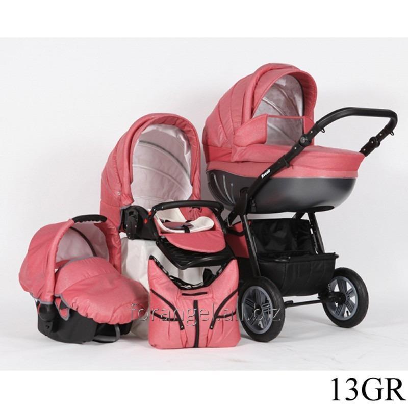 Купить Детская коляска 2 в 1 Verdi Avenir 13GR, Артикул 1102-0011