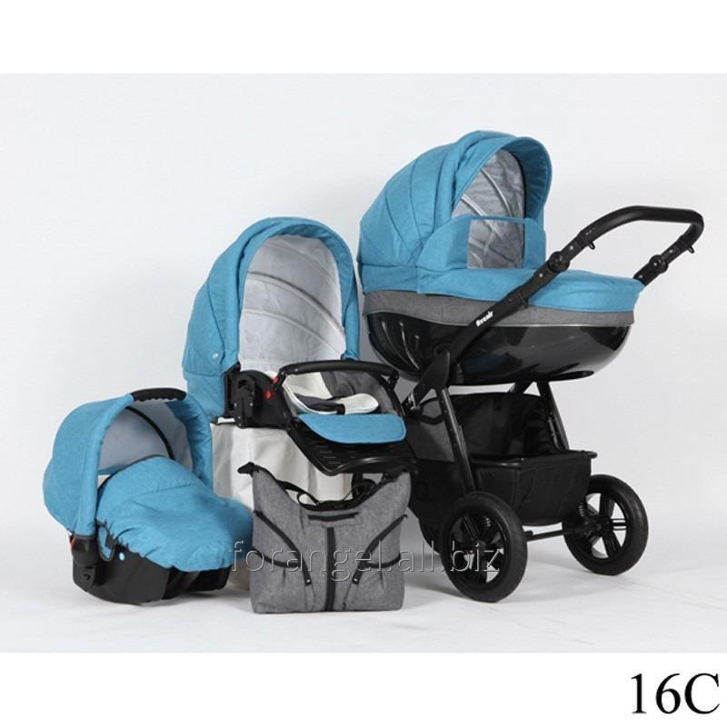 Купить Детская коляска 2 в 1 Verdi Avenir 16C, Артикул 1102-0013