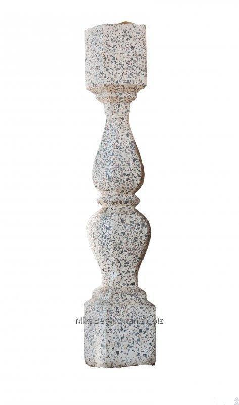 Балясина №1, бетонная с мраморной крошкой