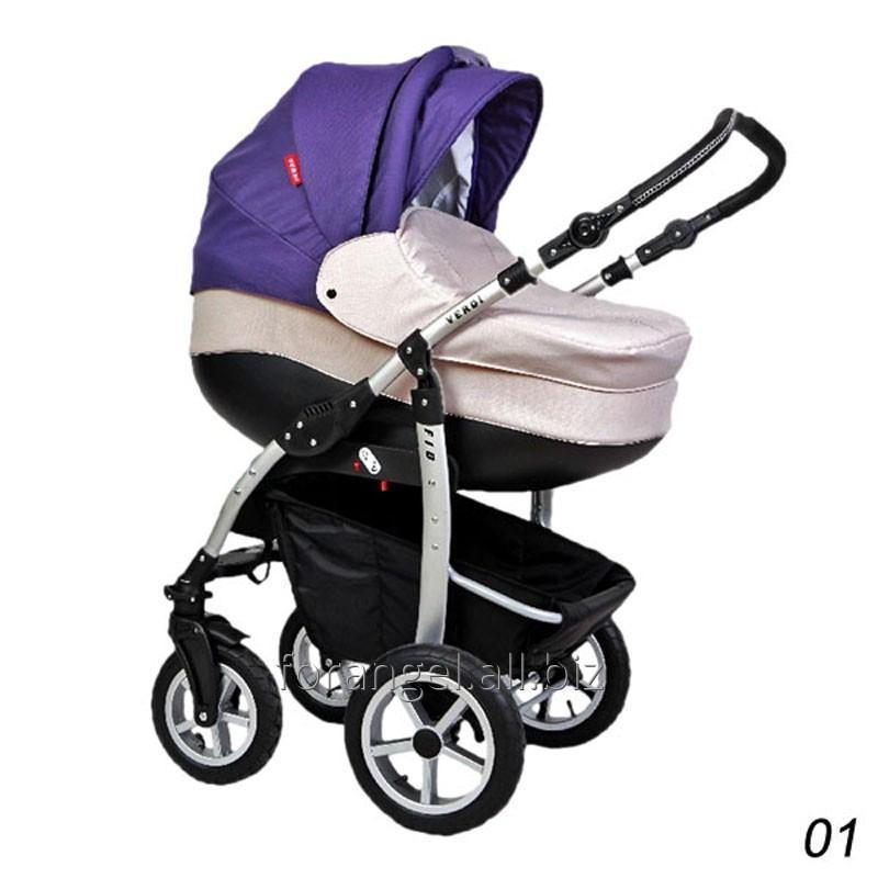 Купить Детская коляска 2 в 1 Verdi Fio 01, Артикул 1102-0084