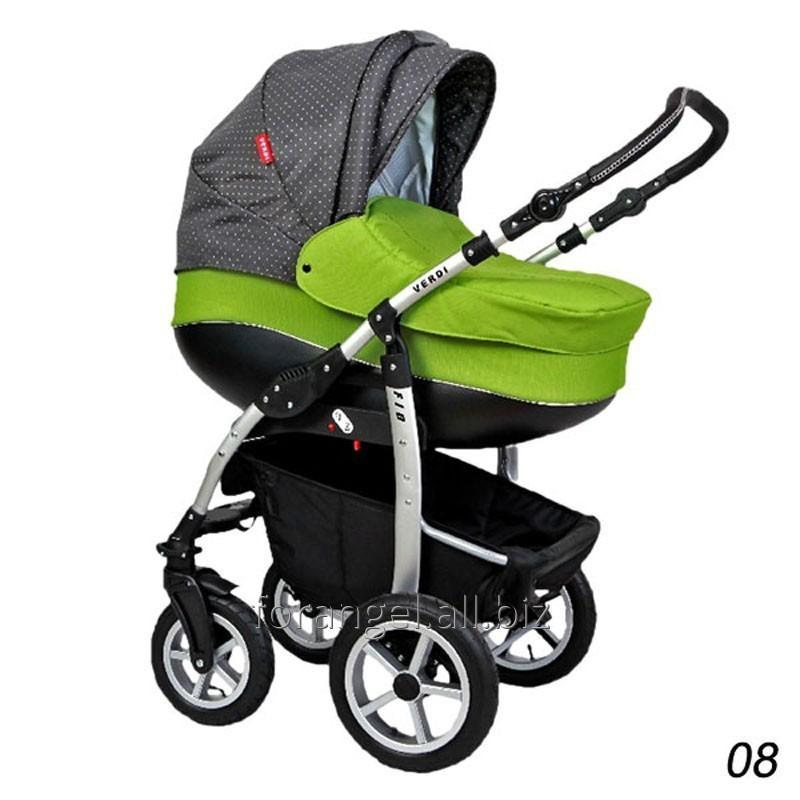 Купить Детская коляска 2 в 1 Verdi Fio 08, Артикул 1102-0091