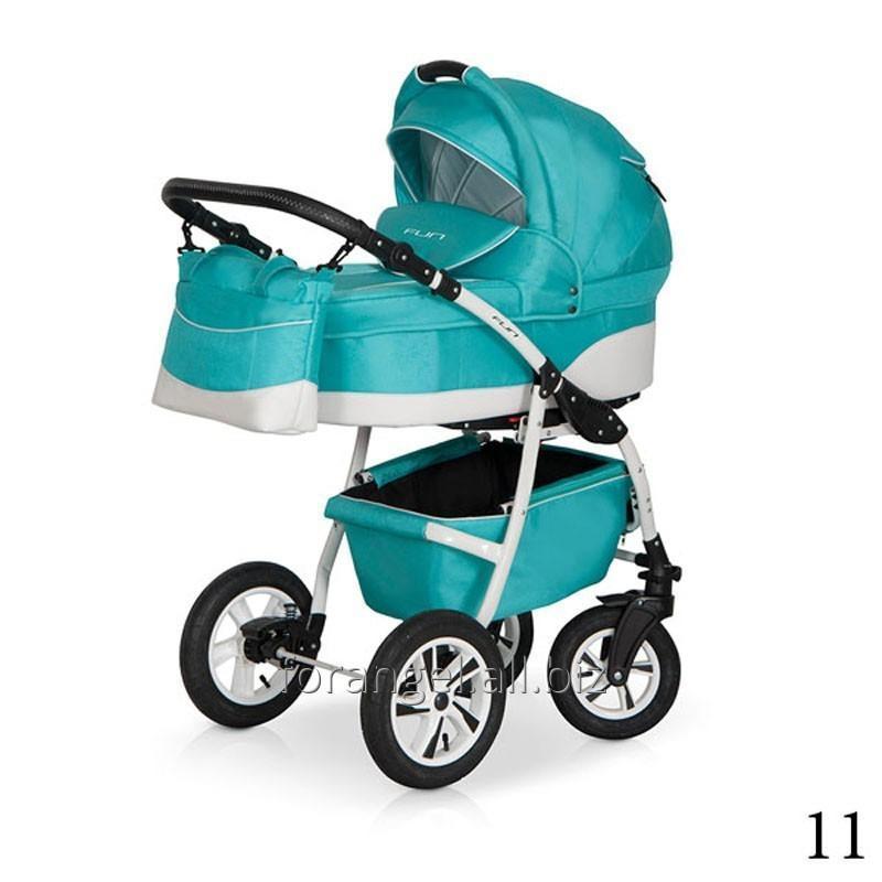 Купить Детская коляска 2 в 1 Verdi Fun 11, Артикул 1102-0104