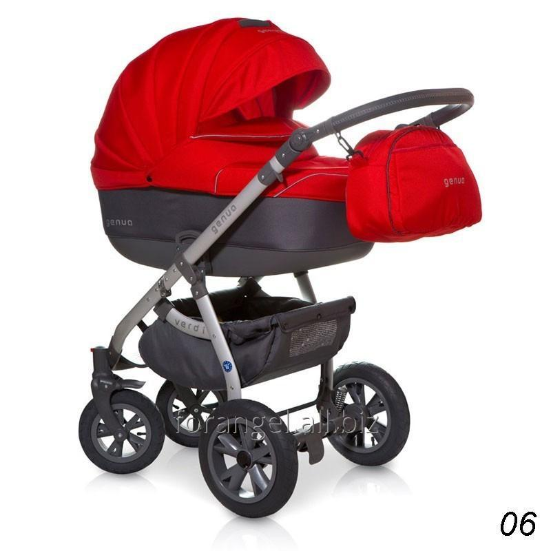Купить Детская коляска 2 в 1 Verdi Genua 06 Red