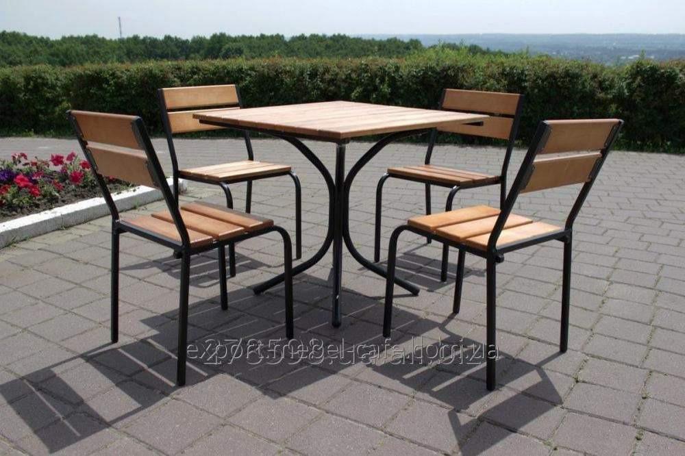 Комплект мебели Классический KIT-Classic-BL для летней площадки