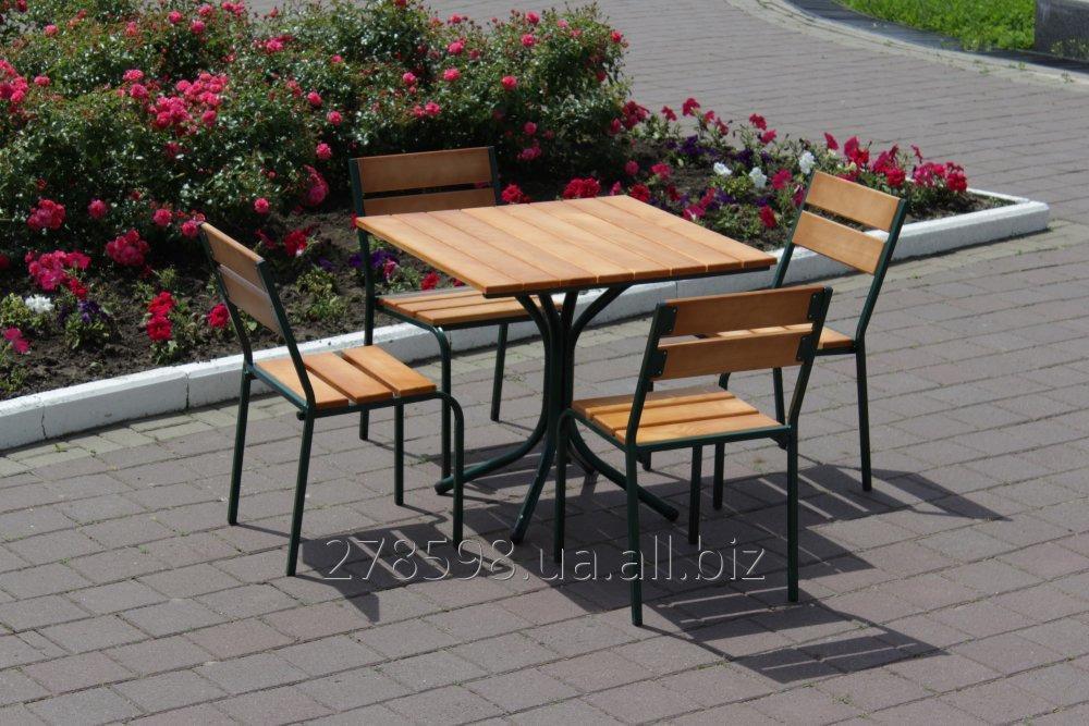 Комплект мебели Классический KIT-Classic-GL для летней площадки