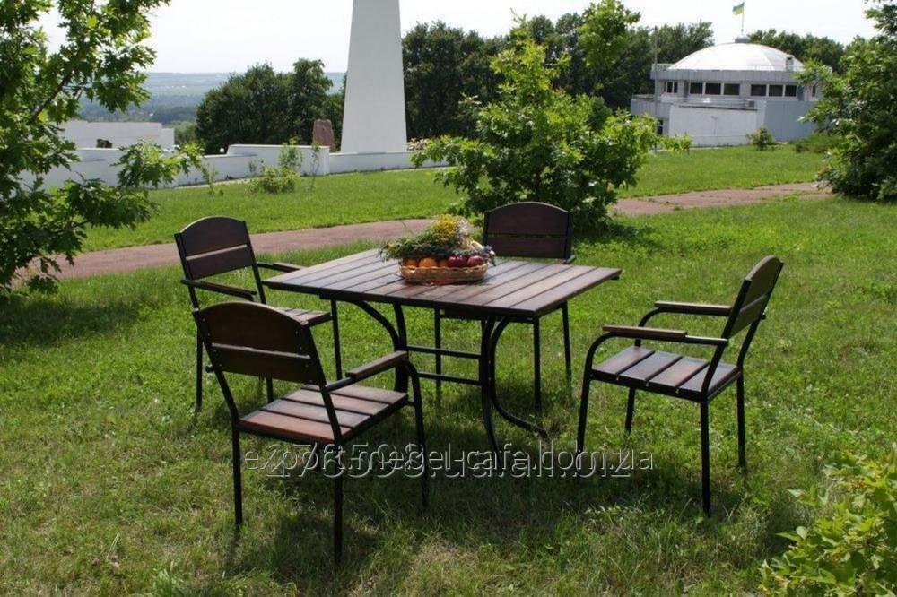 Купить Комплект мебели Премиум KIT-Premium-BD для летних площадок