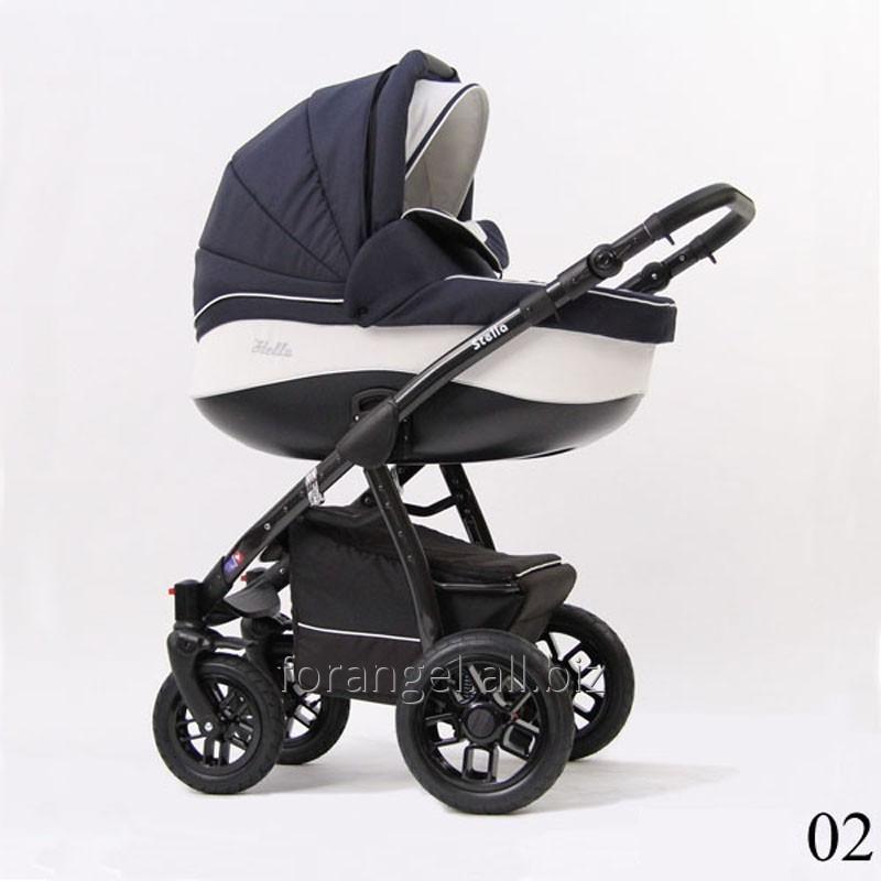 Купить Детская коляска 2 в 1 Verdi Stella 02, Артикул 1102-0022