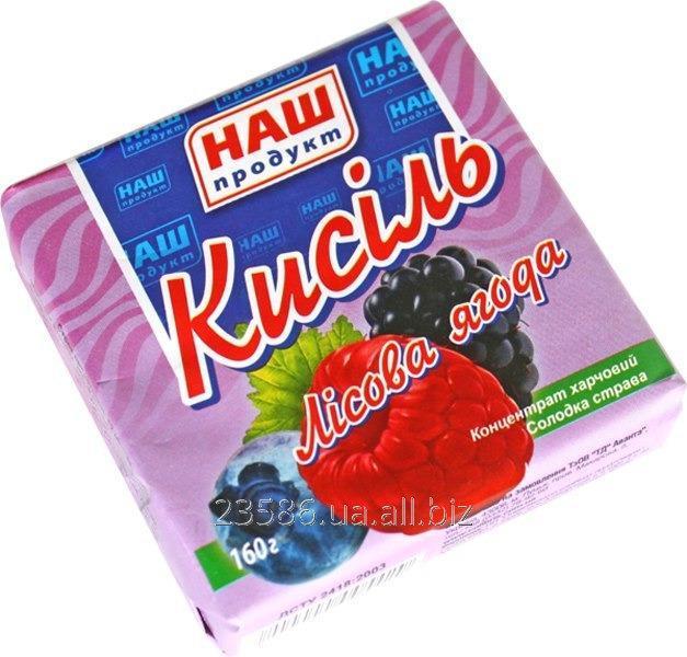 Купить Кисель лесная ягода, 160 гр