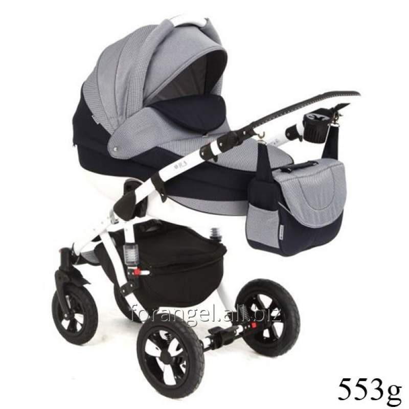 Купить Детская коляска 2 в 1 Adamex Avila 553G, Артикул 100-207