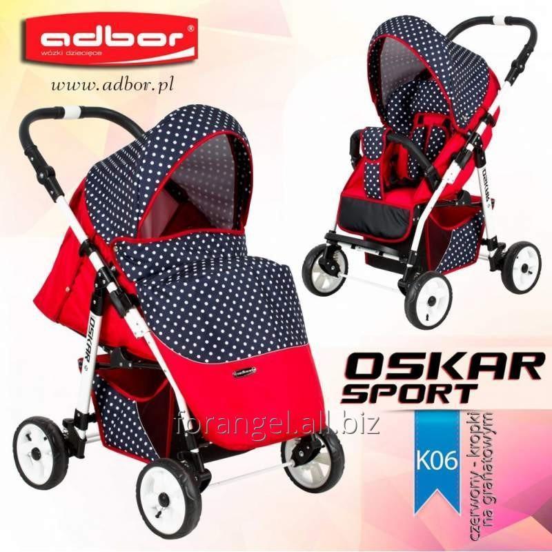 Купить Детская прогулочная коляска Adbor Oskar Sport K06