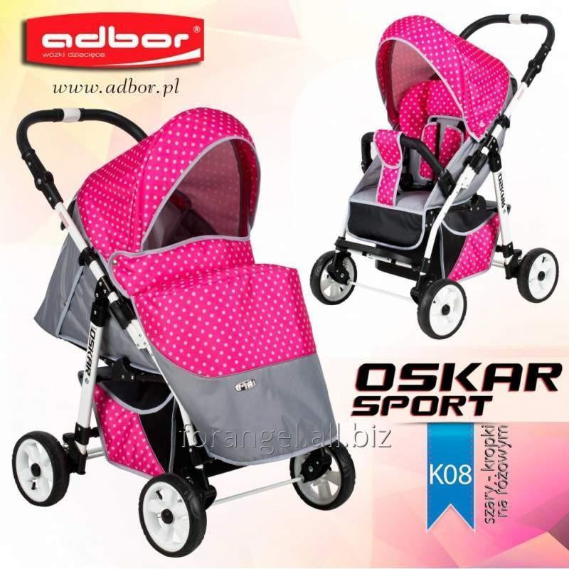 Купить Детская прогулочная коляска Adbor Oskar Sport K08