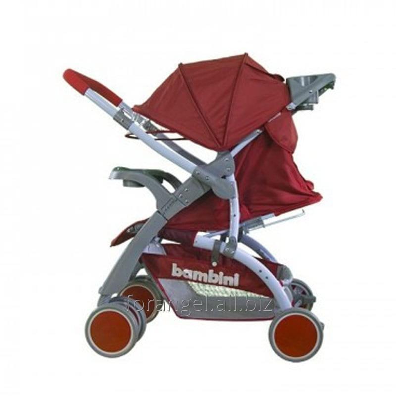 Купить Детская прогулочная коляска Bambini Mars Red Strawberry, Артикул 101-406