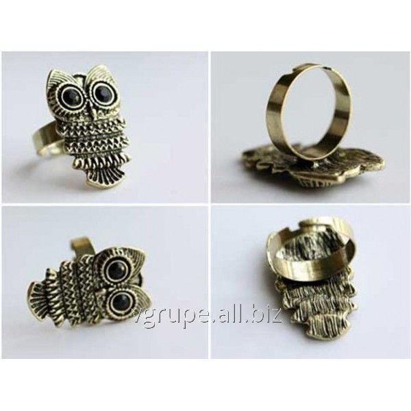 Купить Женское кольцо Сова