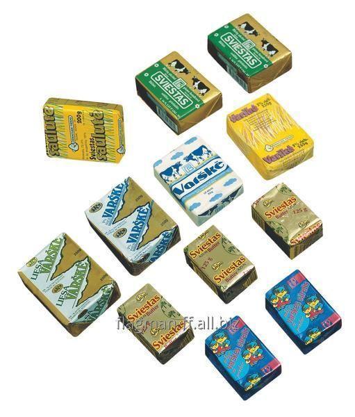 Упаковка для сливочного масла (пергамент)