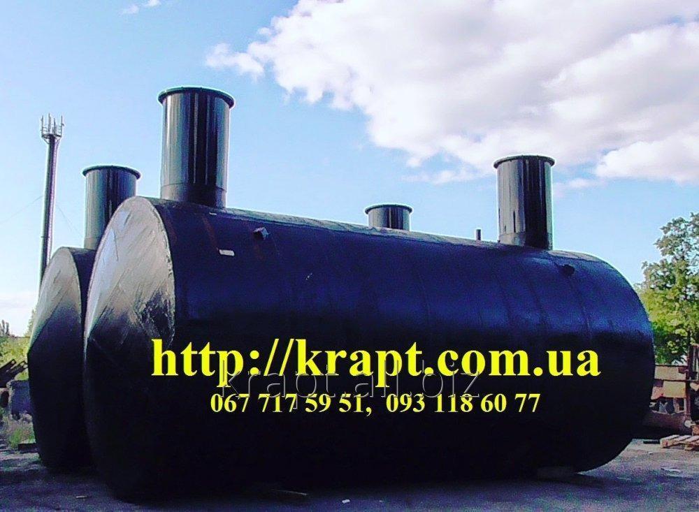 Резервуар для нефтепродуктов подземный 25 куб.м