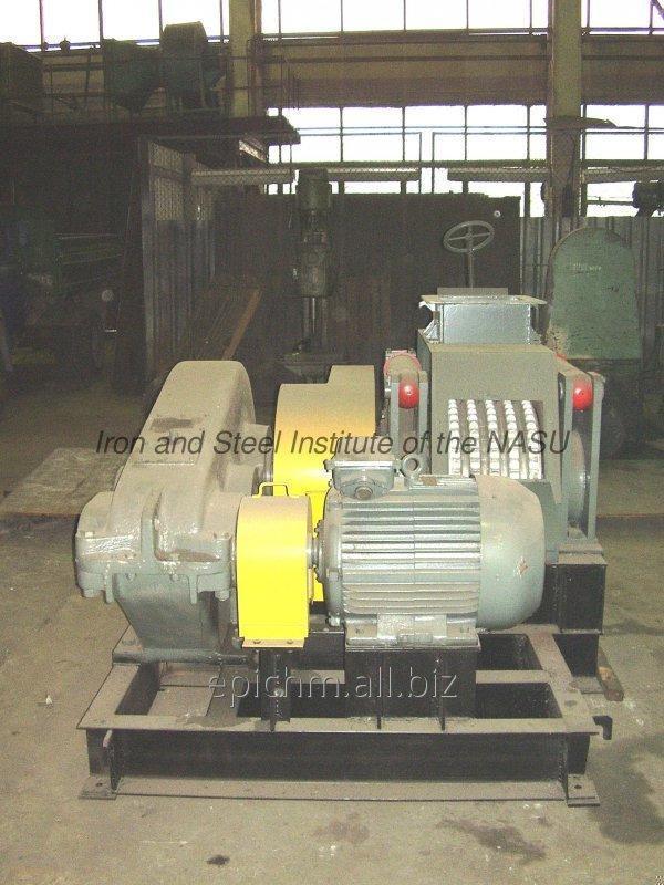 Пресс валковый брикетировочный для бурого угля. Модель ПБВ-23 ПС.