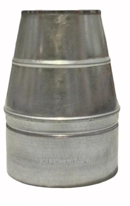 Конус   ф180/250   нерж/оцинковка