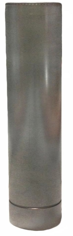 Труба  ф150/220 1,0 м, нерж/нерж 1мм