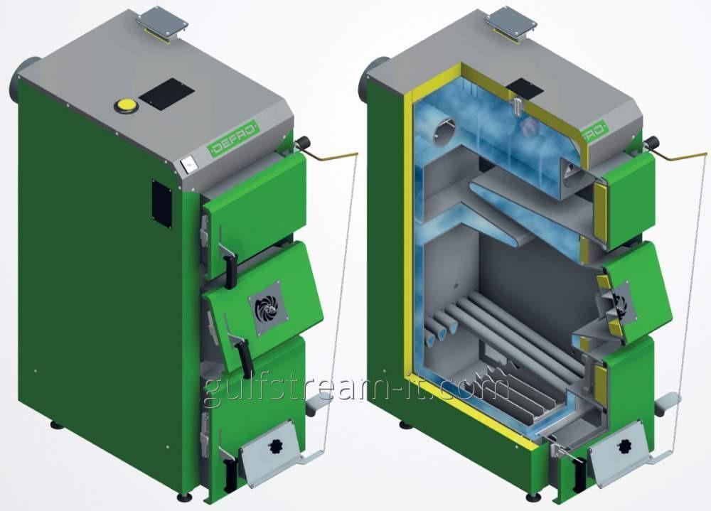 Котел твердотопливный DEFRO  KDR-2 PLUS  25 KW