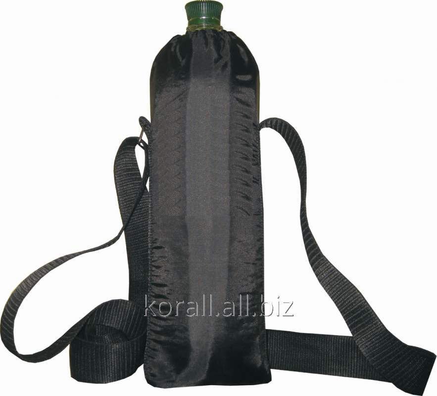 Термосумка сумка-холодильник для бутылки 1,5 л. с ремнем